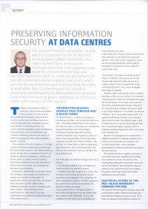 Electrical Review, Jan-Feb 2013, Data Centre Power Supplement, Page 32