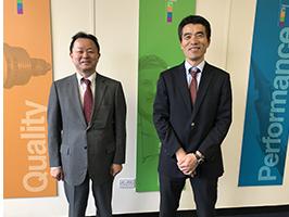 Matsuoka and Suzuki visit-MPE