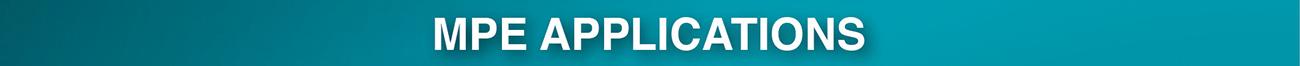 MPE Applications